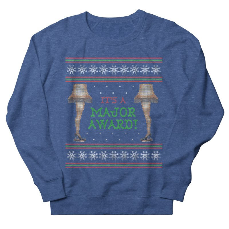 Christmas Story Leg Lamp - Ugly Christmas Sweater-Style Men's Sweatshirt by shaggylocks's Shop