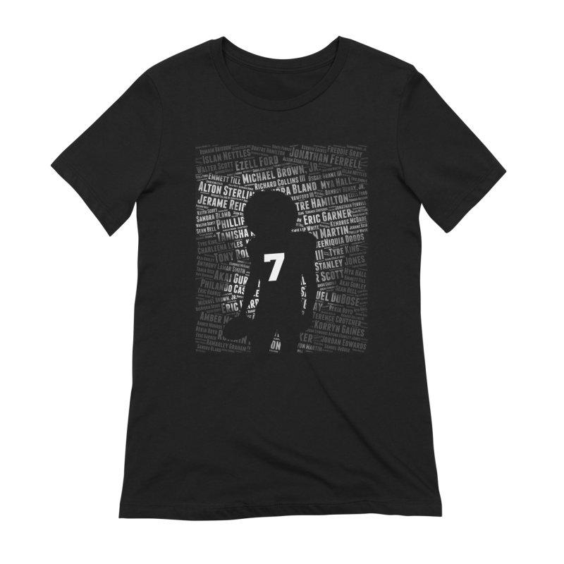 Black Lives Matter: Why Colin Kaepernick Takes a Knee Women's T-Shirt by shaggylocks's Shop
