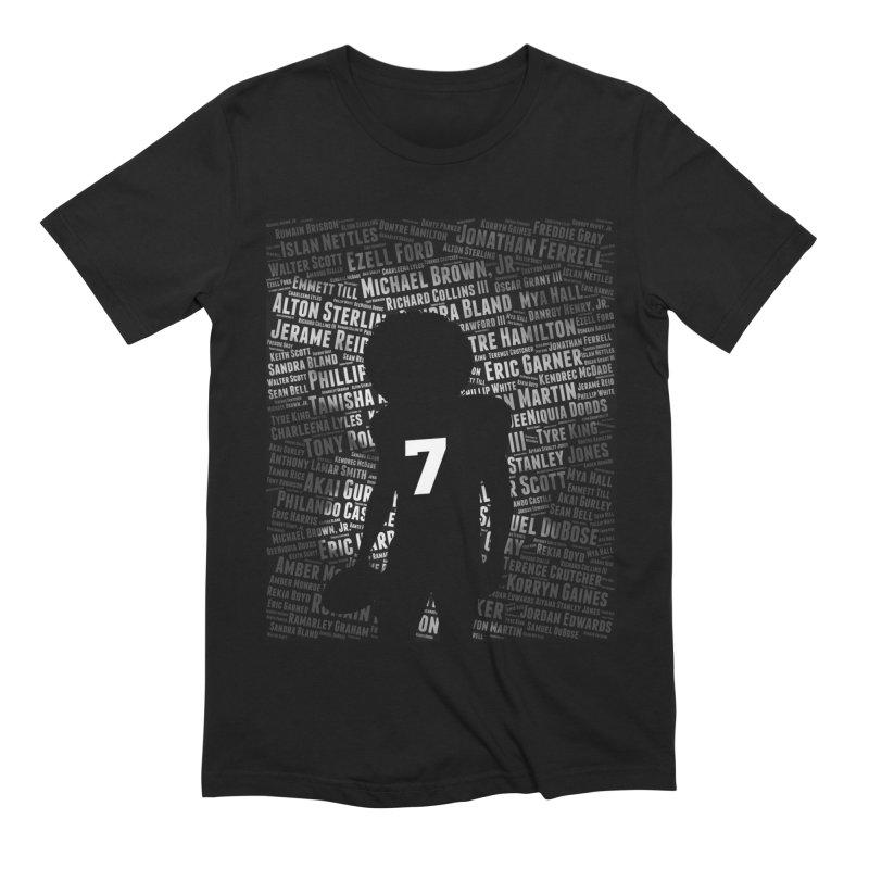 Black Lives Matter: Why Colin Kaepernick Takes a Knee Men's T-Shirt by shaggylocks's Shop