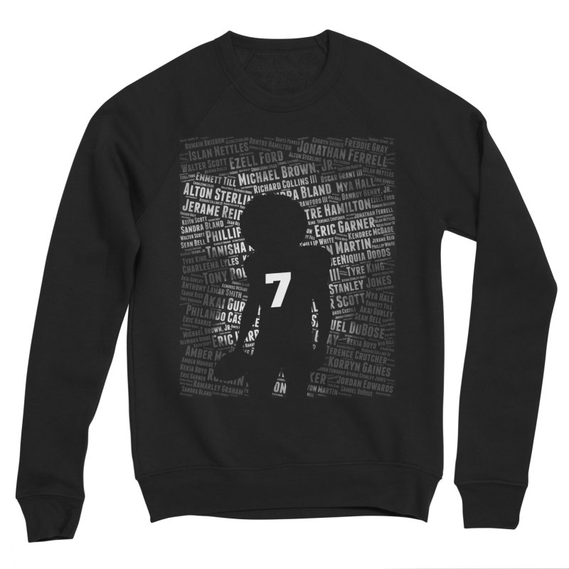 Black Lives Matter: Why Colin Kaepernick Takes a Knee Men's Sweatshirt by shaggylocks's Shop