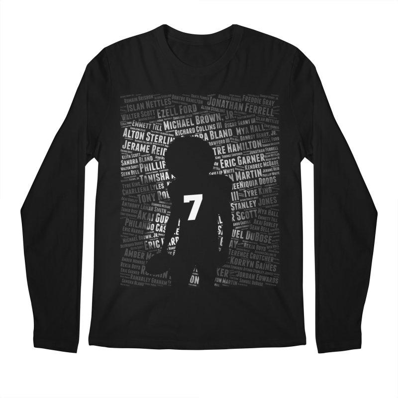 Black Lives Matter: Why Colin Kaepernick Takes a Knee Men's Longsleeve T-Shirt by shaggylocks's Shop