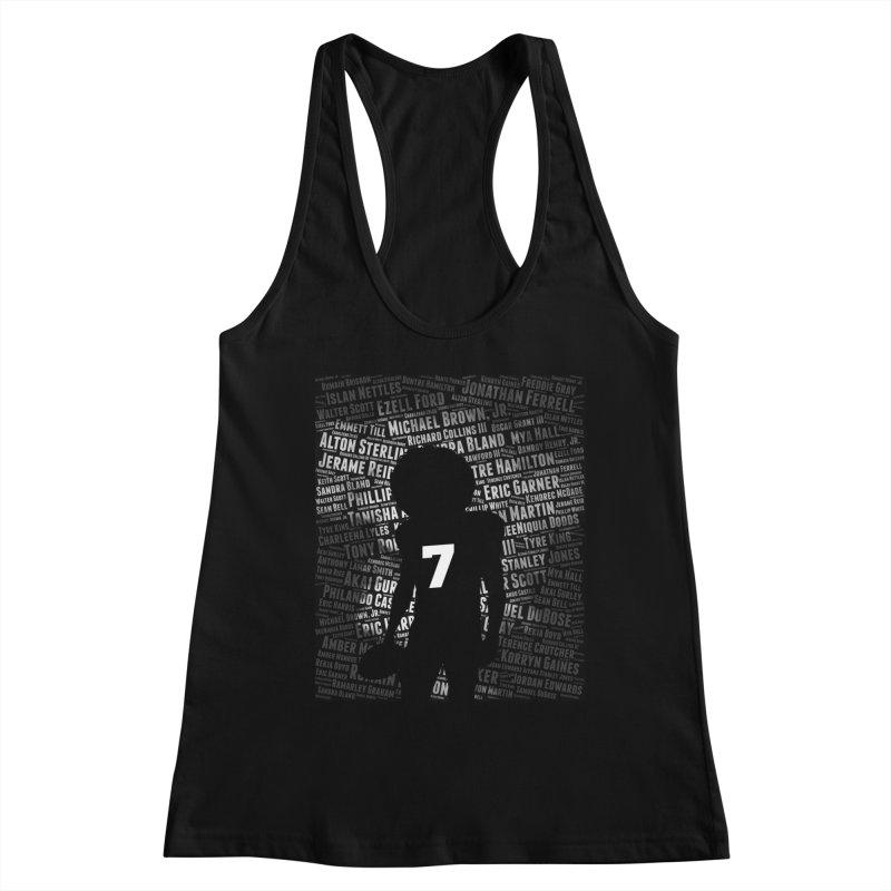 Black Lives Matter: Why Colin Kaepernick Takes a Knee Women's Tank by shaggylocks's Shop