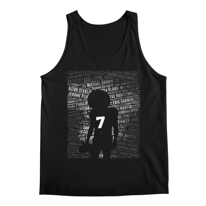 Black Lives Matter: Why Colin Kaepernick Takes a Knee Men's Tank by shaggylocks's Shop