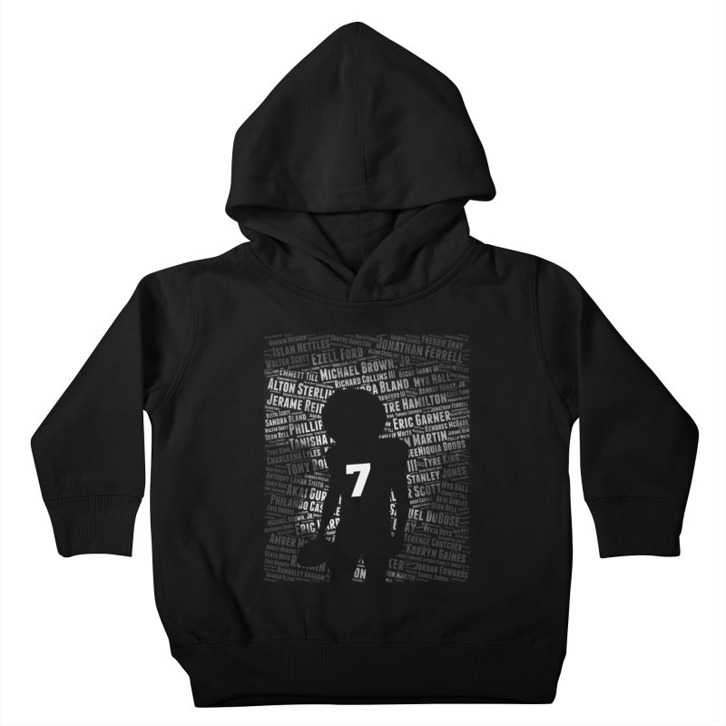 Black Lives Matter: Why Colin Kaepernick Takes a Knee Kids Toddler Pullover Hoody by shaggylocks's Shop