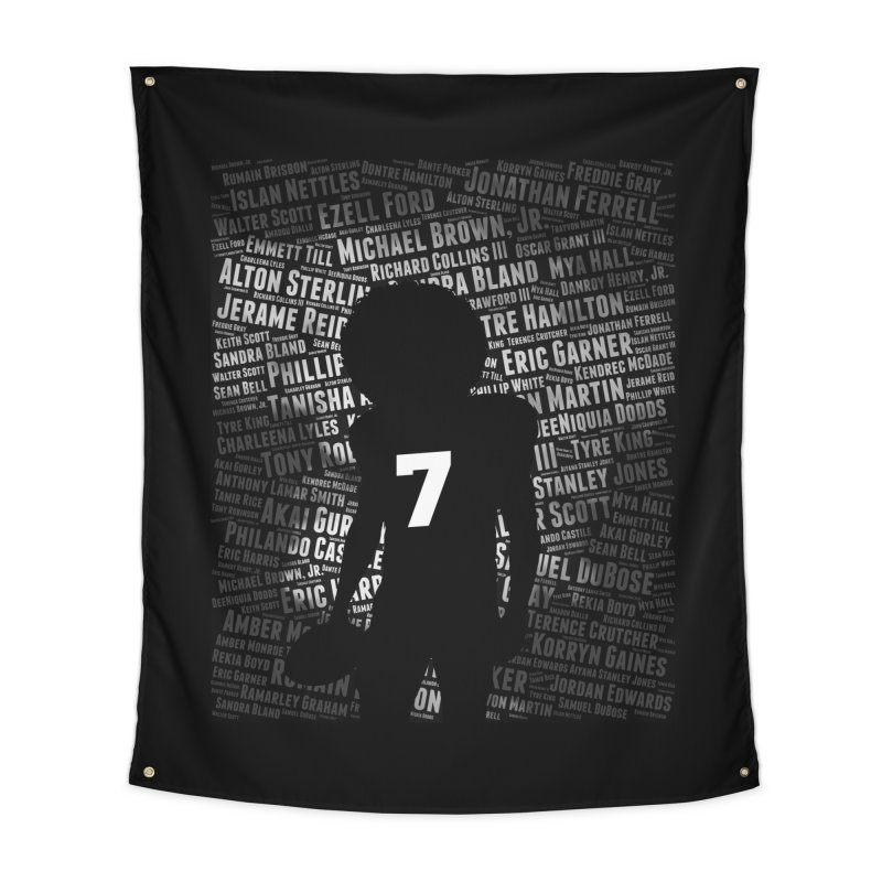 Black Lives Matter: Why Colin Kaepernick Takes a Knee Home Tapestry by shaggylocks's Shop