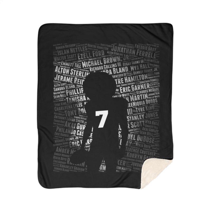 Black Lives Matter: Why Colin Kaepernick Takes a Knee Home Blanket by shaggylocks's Shop