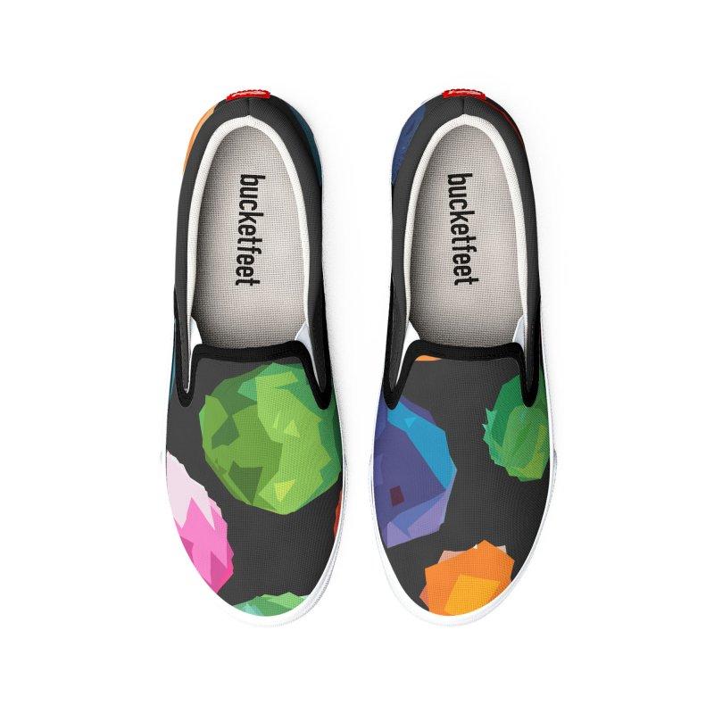 Color Cutouts Men's Shoes by shandrasmith's Artist Shop