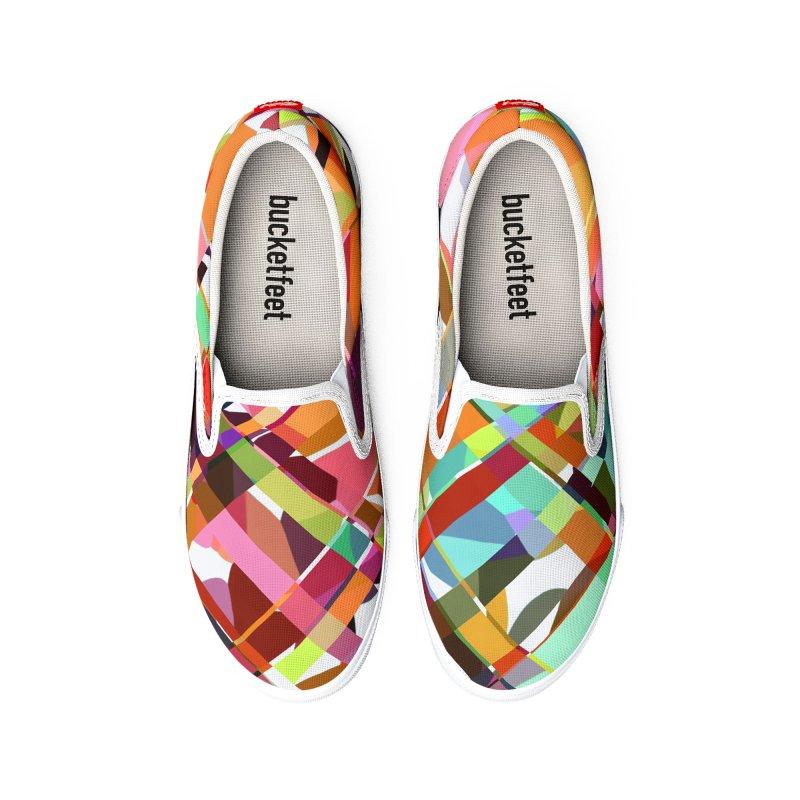 Rainbow Vibes Women's Shoes by shandrasmith's Artist Shop