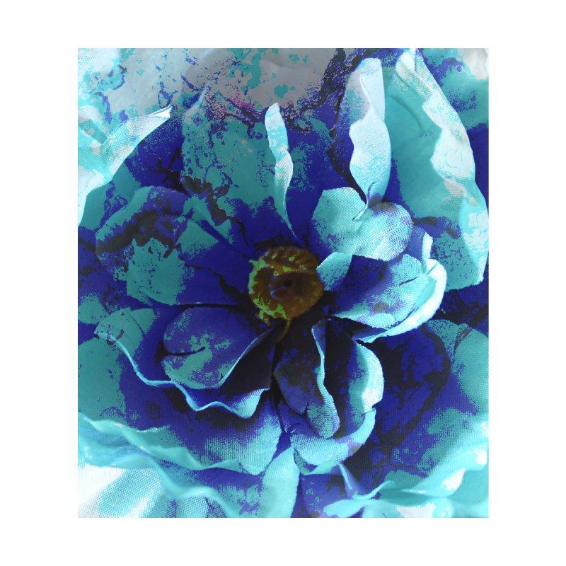 Blue Flower Men's Shoes by shandrasmith's Artist Shop