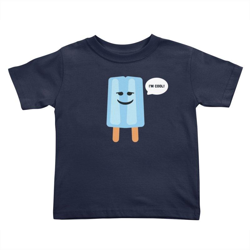 I'm Cool! Kids Toddler T-Shirt by Shane Guymon Shirt Shop