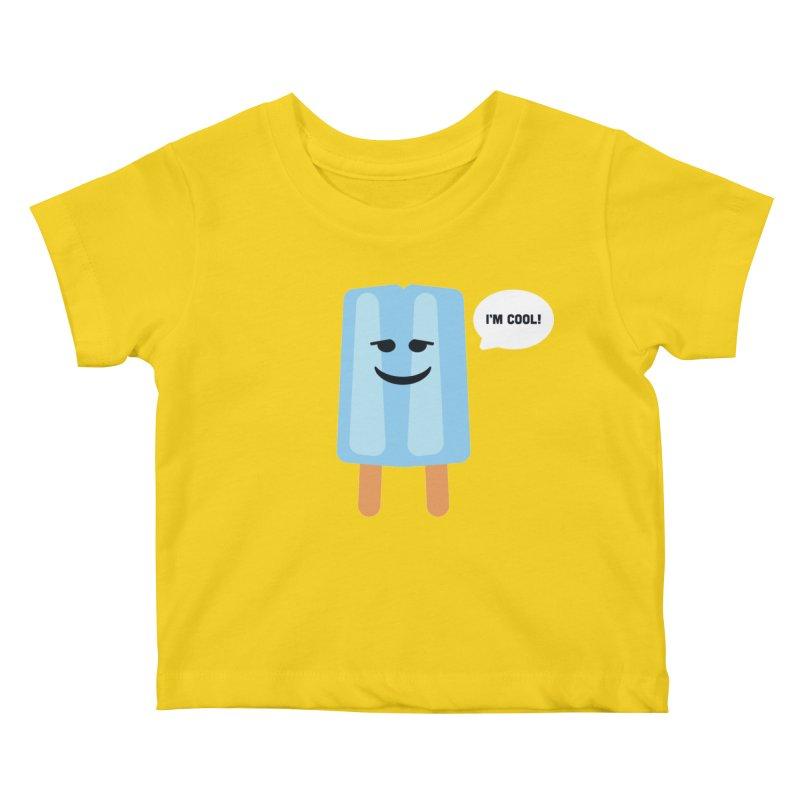 I'm Cool! Kids Baby T-Shirt by Shane Guymon Shirt Shop