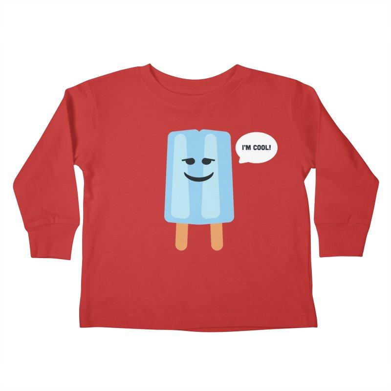 I'm Cool! Kids Toddler Longsleeve T-Shirt by Shane Guymon Shirt Shop