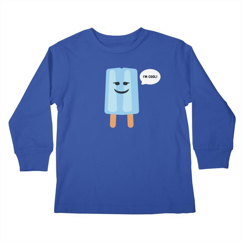 I'm Cool! Kids Longsleeve T-Shirt by Shane Guymon Shirt Shop