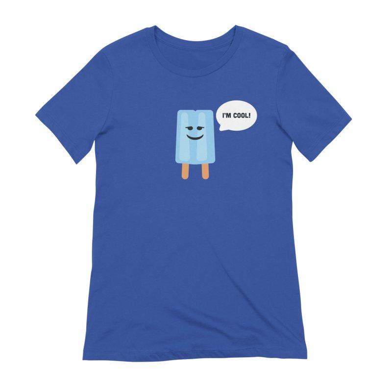 I'm Cool! Women's Extra Soft T-Shirt by Shane Guymon