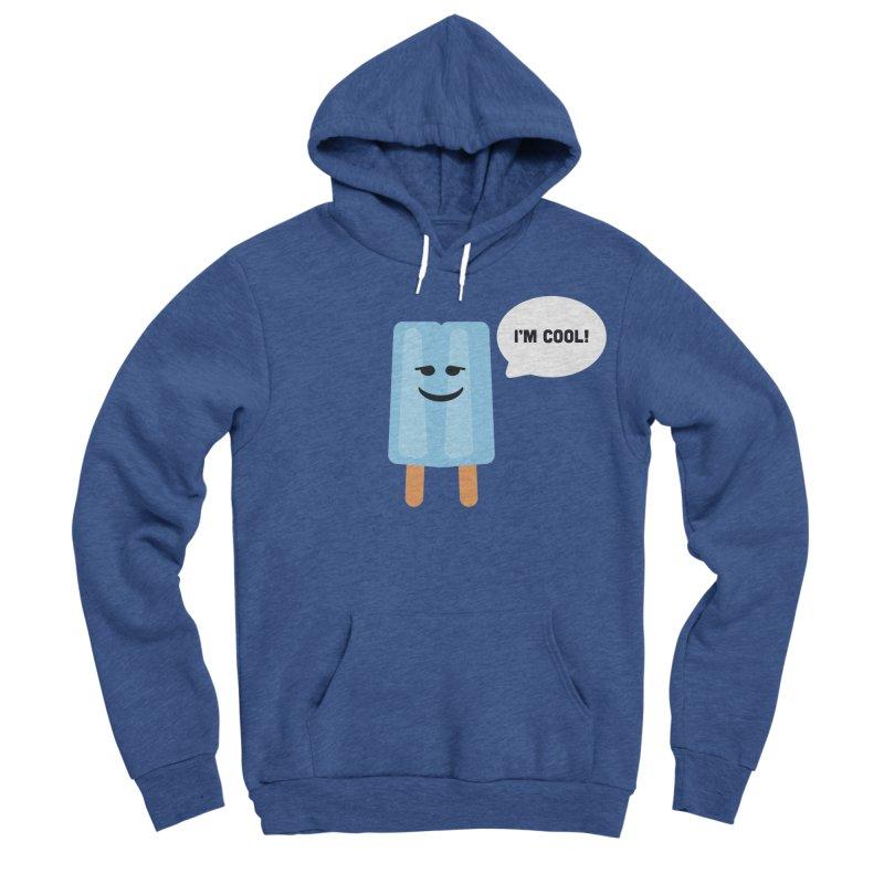 I'm Cool! Men's Sponge Fleece Pullover Hoody by Shane Guymon