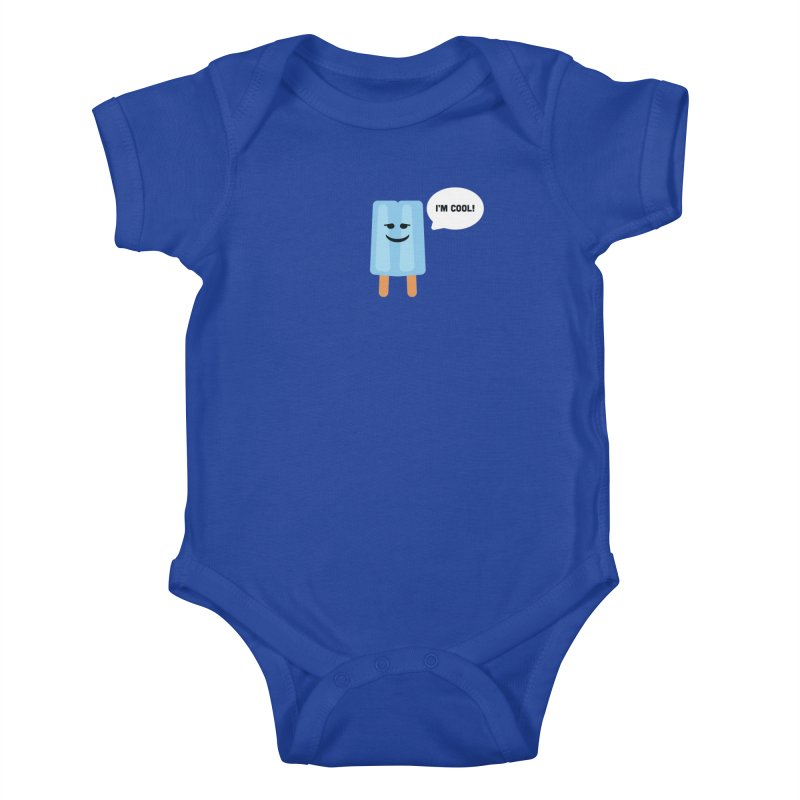 I'm Cool! Kids Baby Bodysuit by Shane Guymon