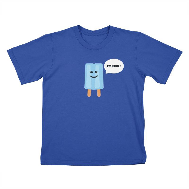 I'm Cool! Kids T-Shirt by Shane Guymon