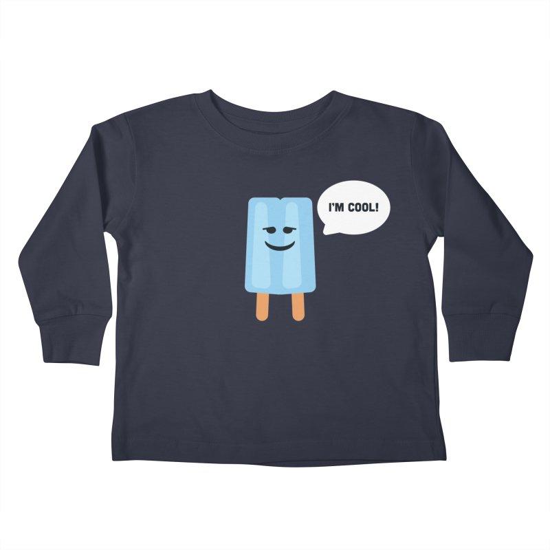 I'm Cool! Kids Toddler Longsleeve T-Shirt by Shane Guymon