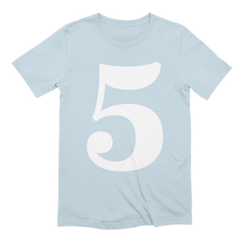 Five (5) Men's T-Shirt by Shane Guymon Shirt Shop