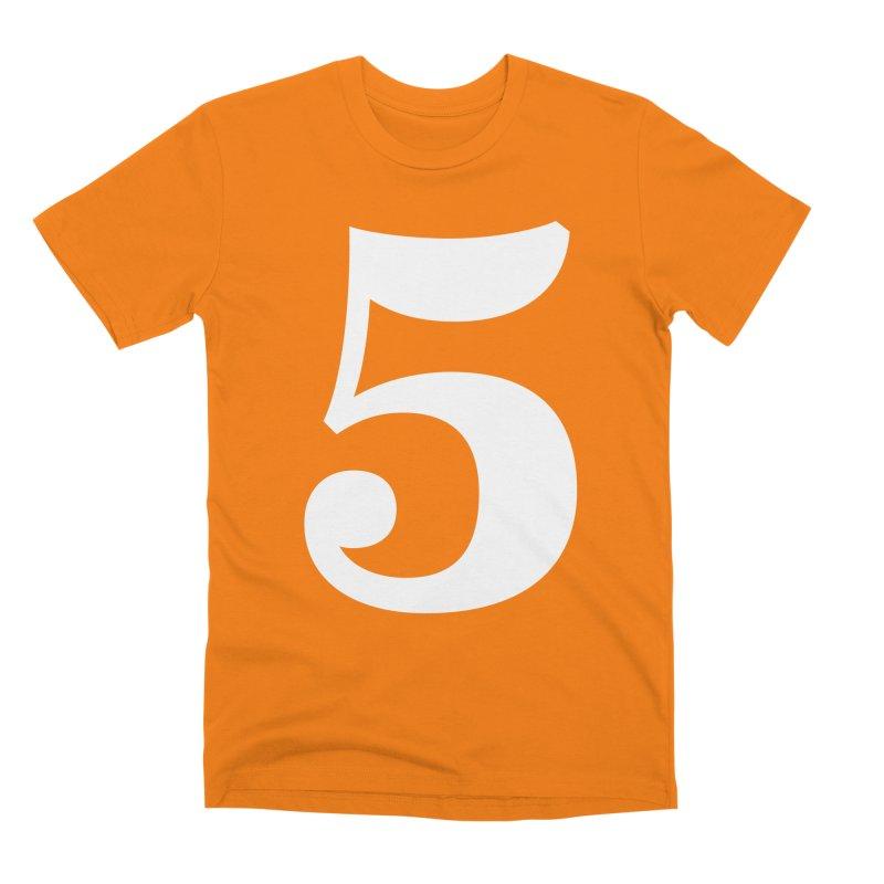 Five (5) Men's Premium T-Shirt by Shane Guymon