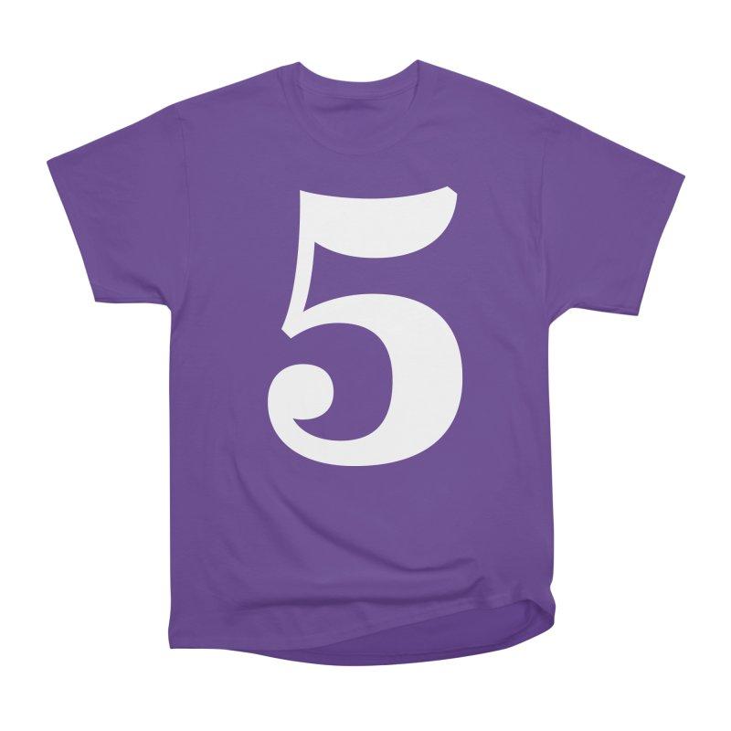 Five (5) Women's Heavyweight Unisex T-Shirt by Shane Guymon
