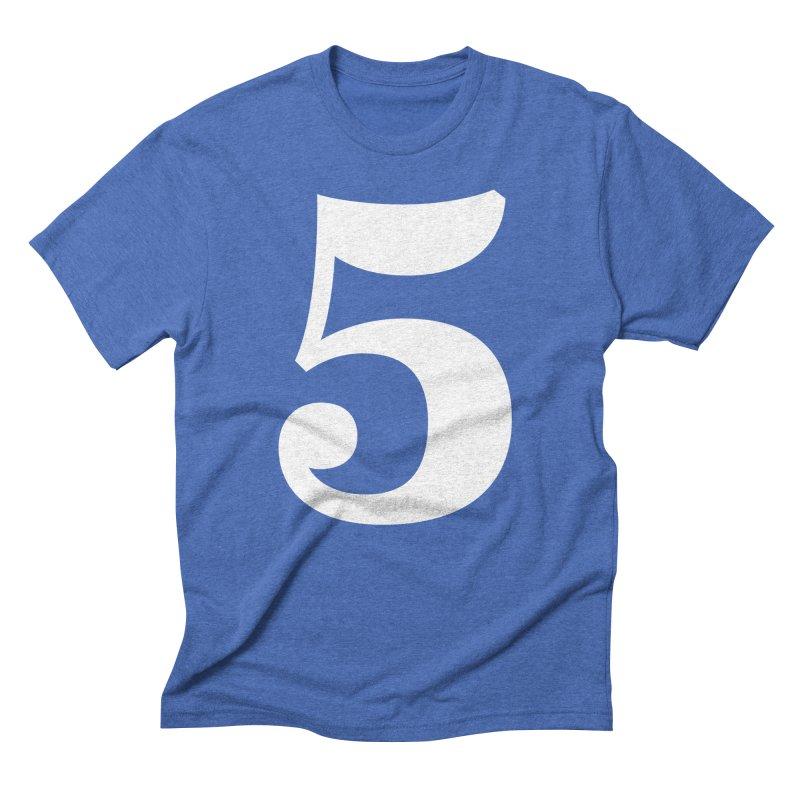 Five (5) Men's T-Shirt by Shane Guymon