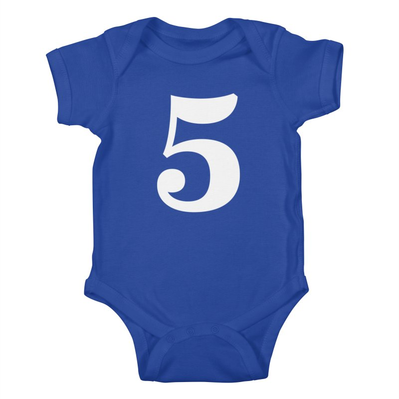 Five (5) Kids Baby Bodysuit by Shane Guymon