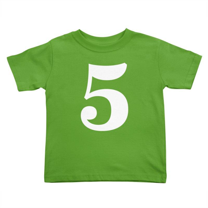 Five (5) Kids Toddler T-Shirt by Shane Guymon Shirt Shop