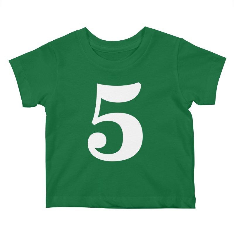 Five (5) Kids Baby T-Shirt by Shane Guymon