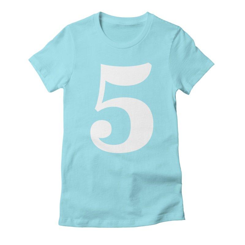 Five (5) Women's T-Shirt by Shane Guymon Shirt Shop