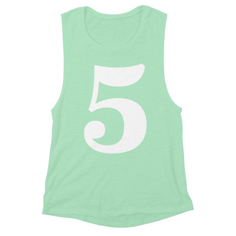 Five (5) Women's Tank by Shane Guymon Shirt Shop