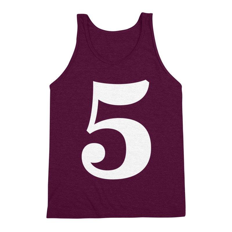 Five (5) Men's Triblend Tank by Shane Guymon