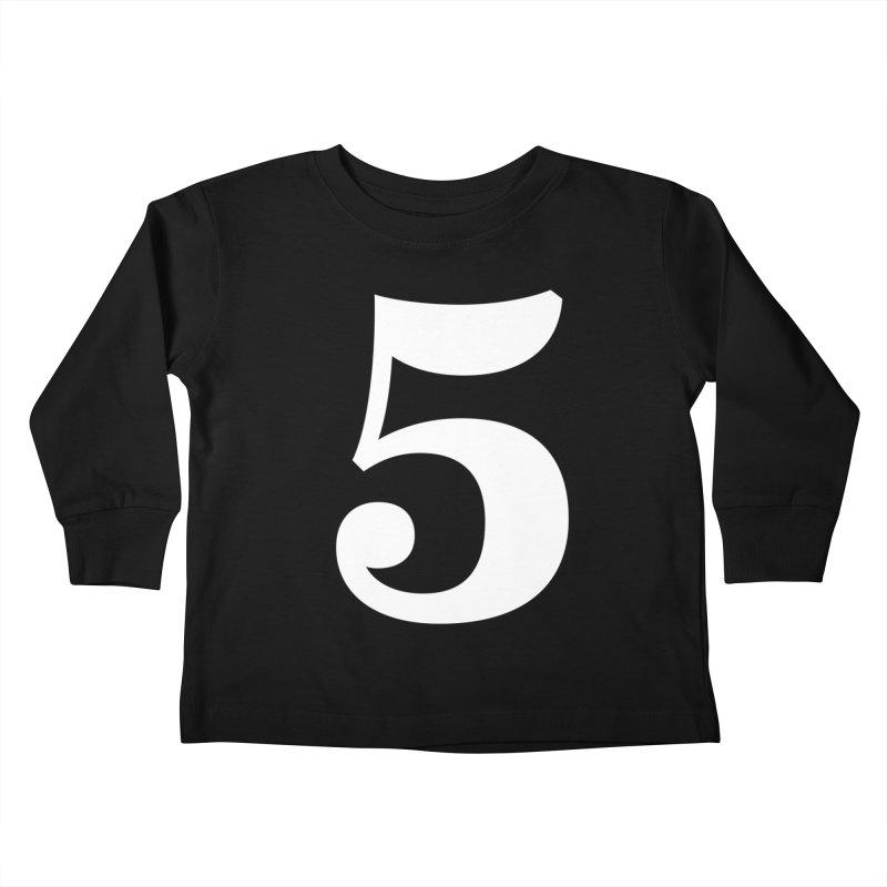 Five (5) Kids Toddler Longsleeve T-Shirt by Shane Guymon Shirt Shop