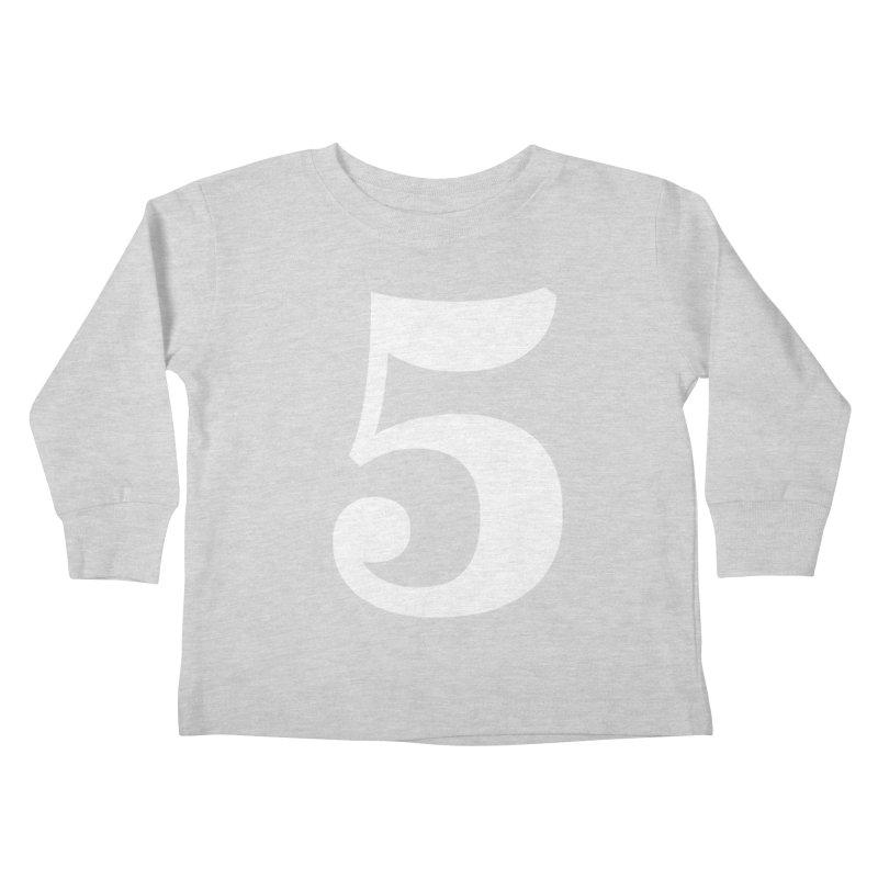 Five (5) Kids Toddler Longsleeve T-Shirt by Shane Guymon