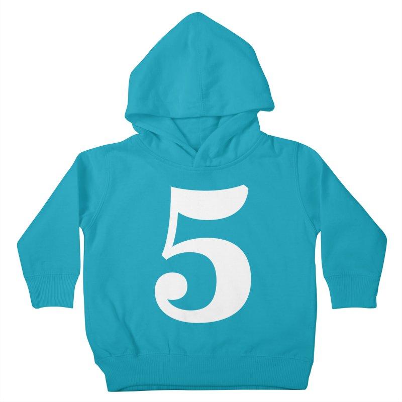 Five (5) Kids Toddler Pullover Hoody by Shane Guymon Shirt Shop