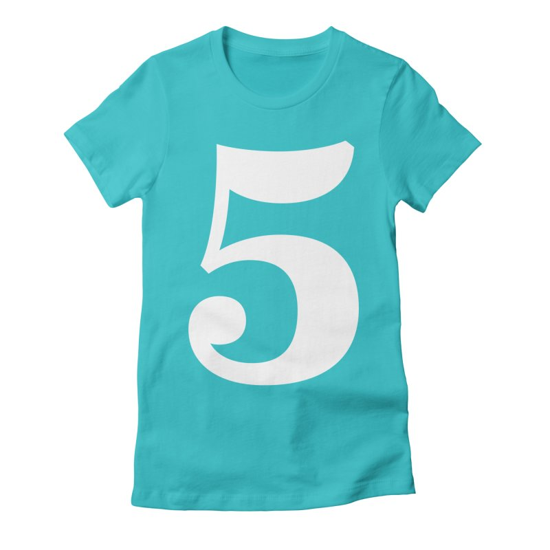 Five (5) Women's Fitted T-Shirt by Shane Guymon