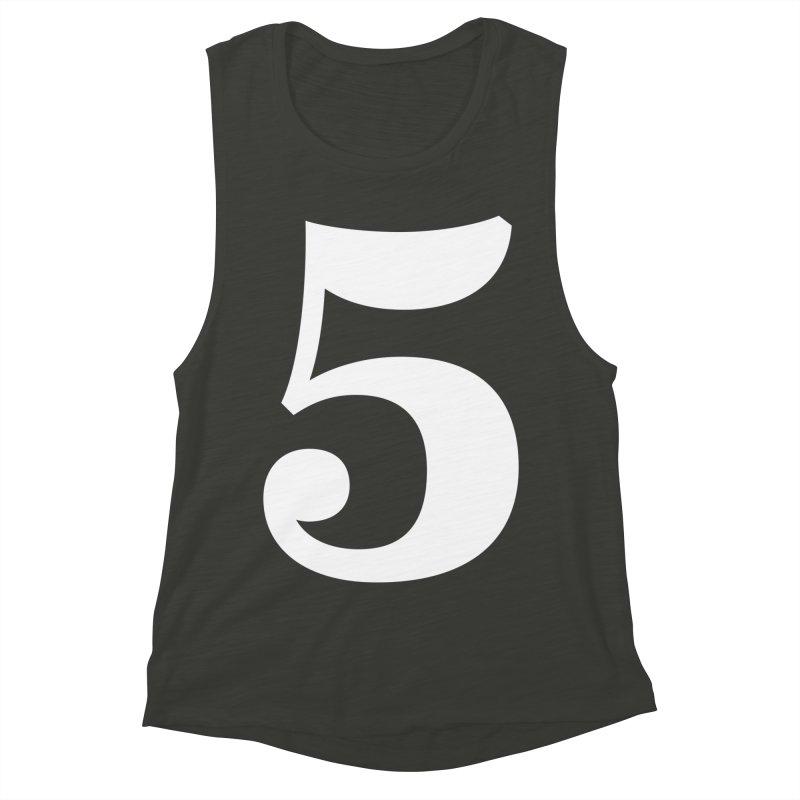 Five (5) Women's Muscle Tank by Shane Guymon
