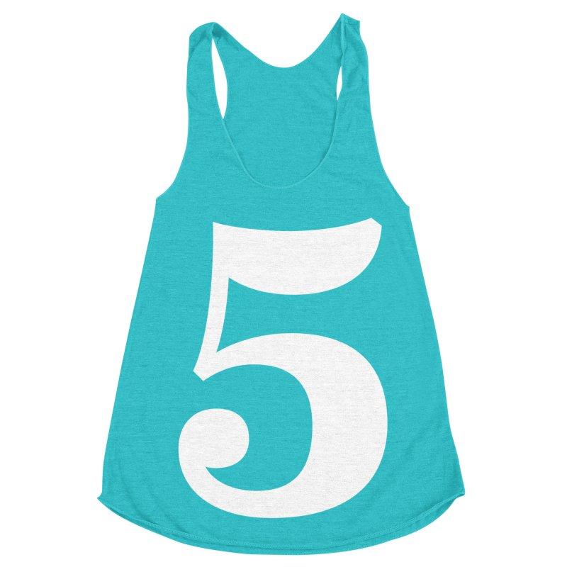 Five (5) Women's Racerback Triblend Tank by Shane Guymon