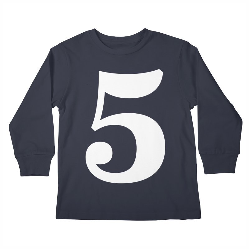 Five (5) Kids Longsleeve T-Shirt by Shane Guymon