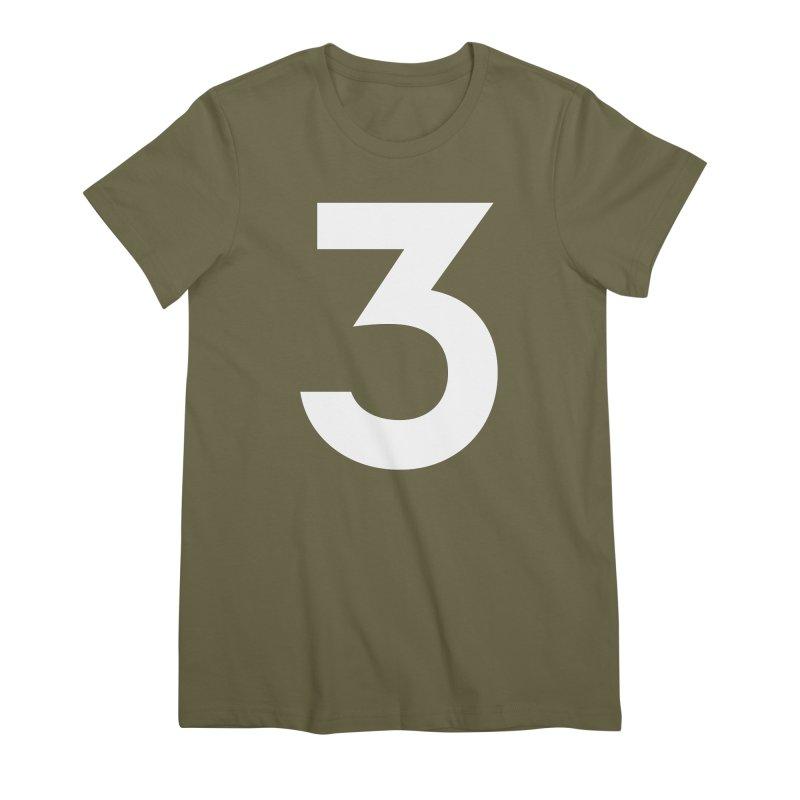 Three Women's Premium T-Shirt by Shane Guymon