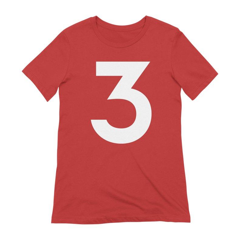 Three Women's Extra Soft T-Shirt by Shane Guymon