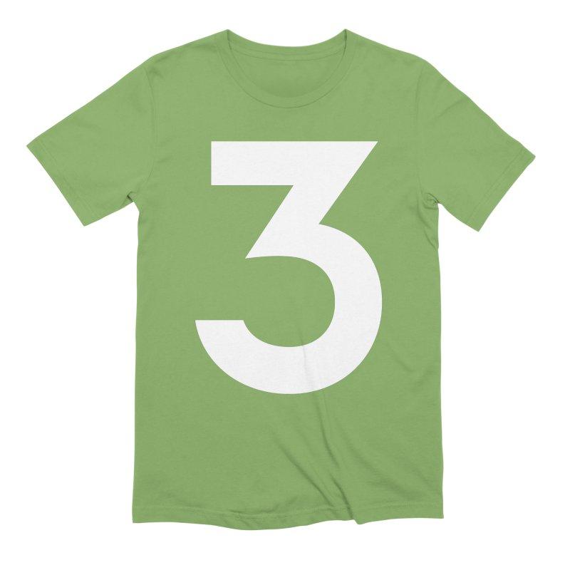 Three Men's T-Shirt by Shane Guymon Shirt Shop