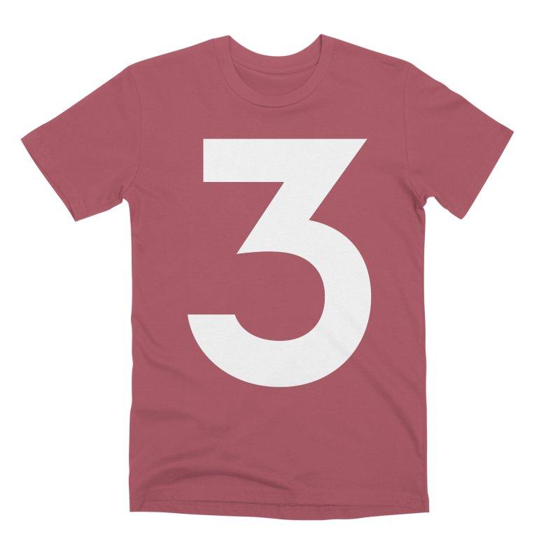 Three Men's Premium T-Shirt by Shane Guymon