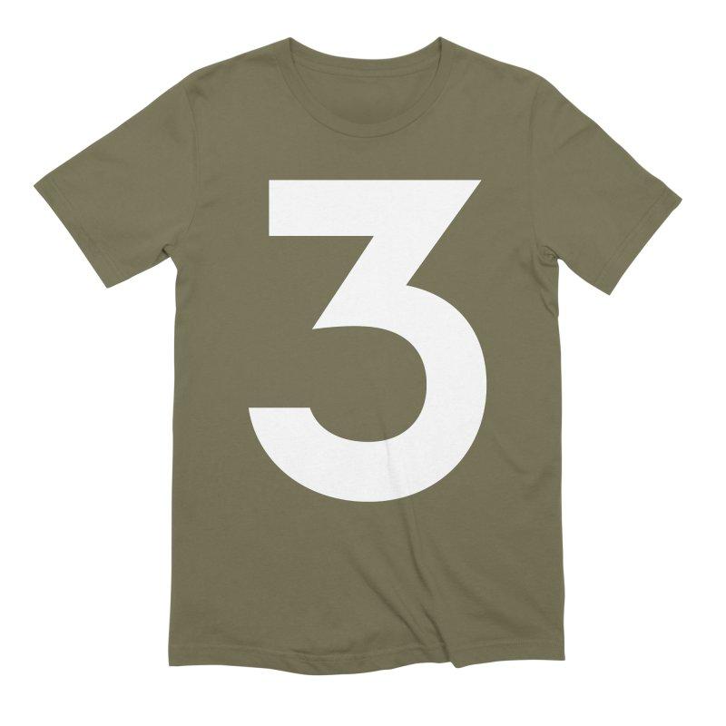 Three Men's Extra Soft T-Shirt by Shane Guymon