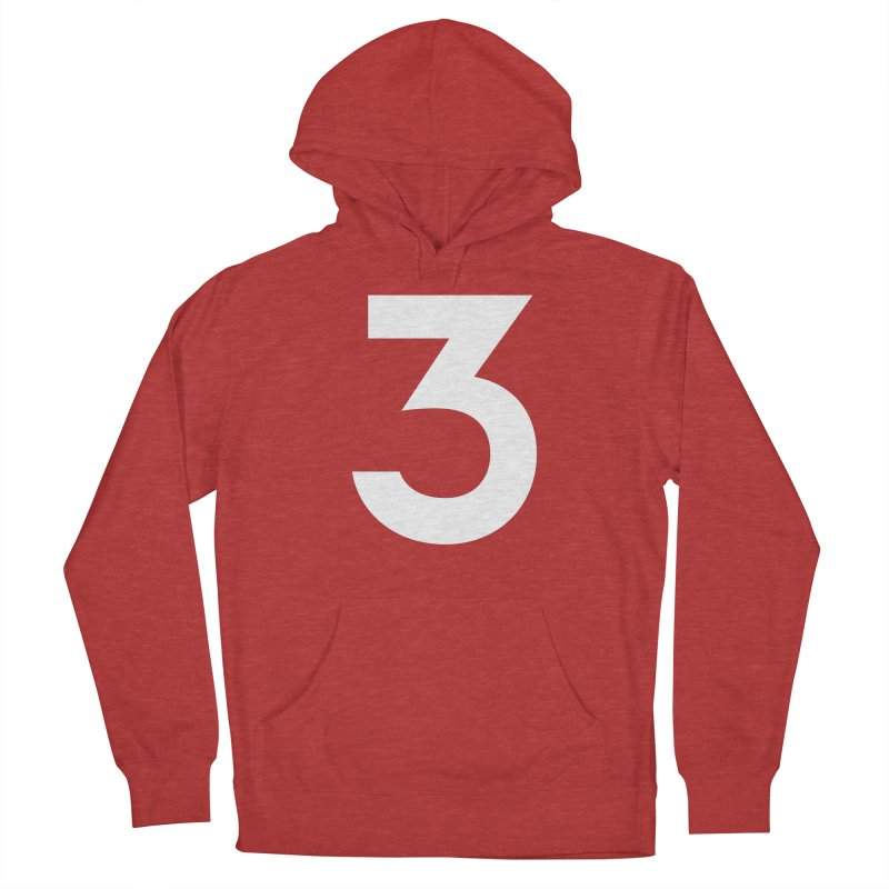 Three Women's French Terry Pullover Hoody by Shane Guymon