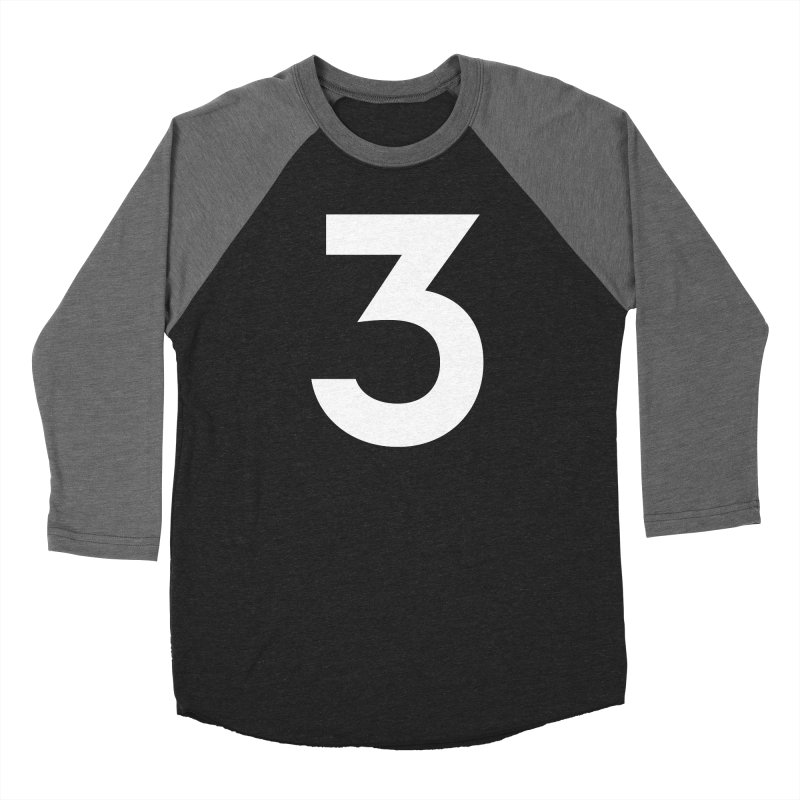 Three Men's Longsleeve T-Shirt by Shane Guymon Shirt Shop