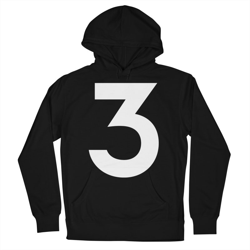 Three Men's French Terry Pullover Hoody by Shane Guymon
