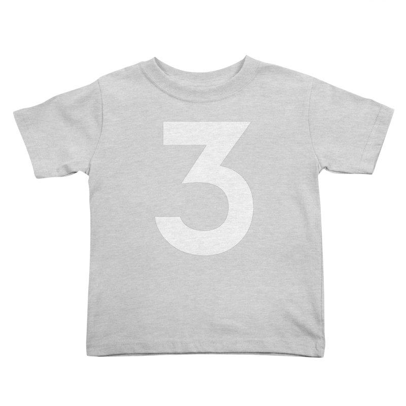Three Kids Toddler T-Shirt by Shane Guymon