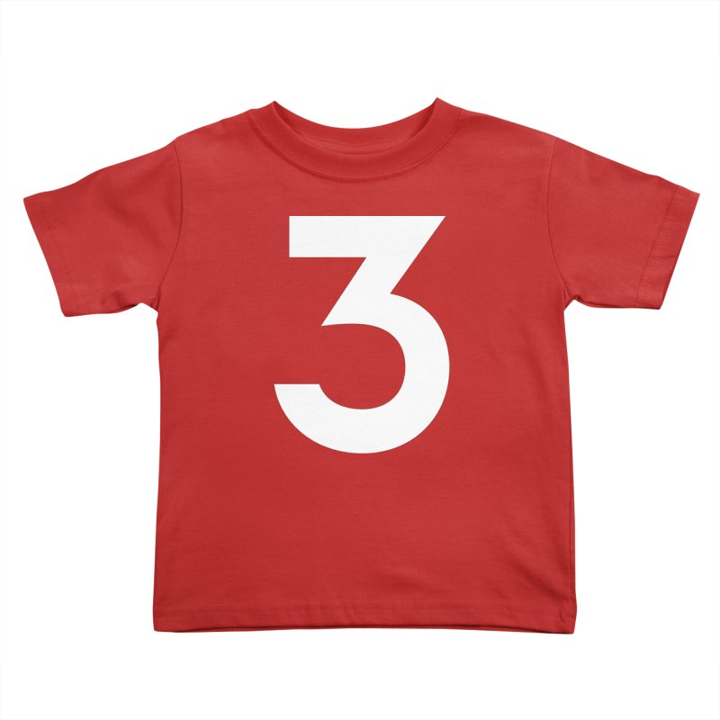 Three Kids Toddler T-Shirt by Shane Guymon