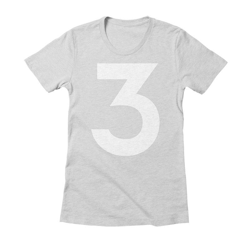 Three Women's T-Shirt by Shane Guymon Shirt Shop